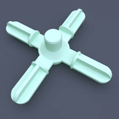 AstroLogix 4-way Hubs (30 pieces)