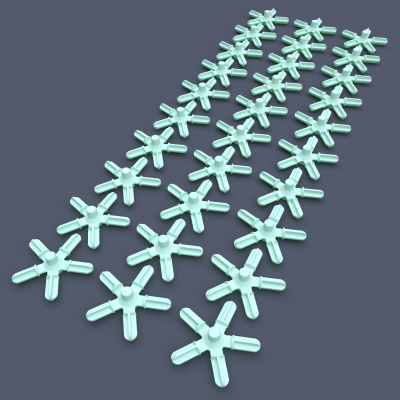 AstroLogix 5-way Hubs (30 pieces)