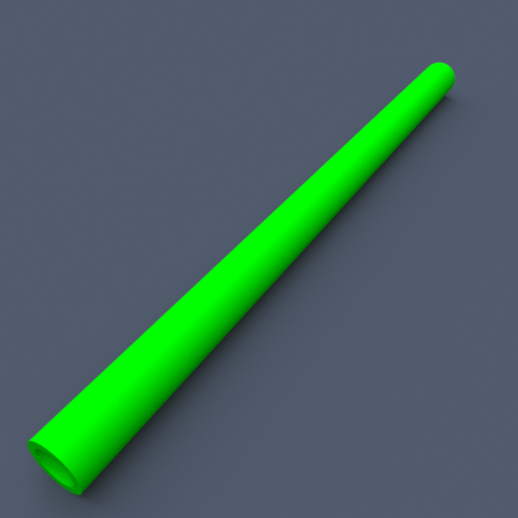 AstroLogix Green Tubes (30 pieces)