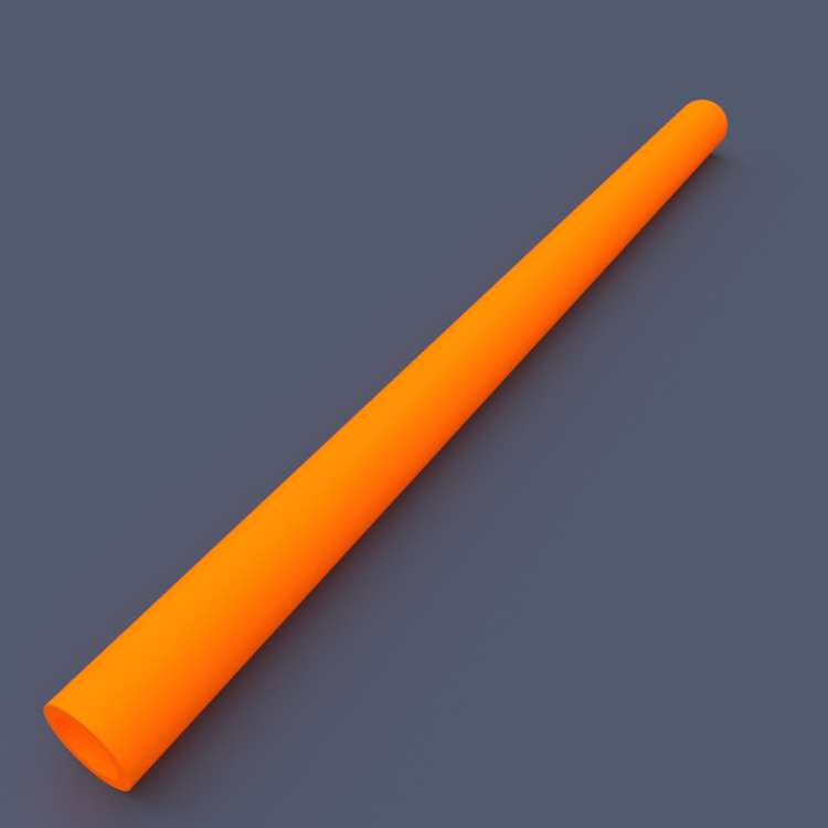 AstroLogix Orange Tubes (30 pieces)