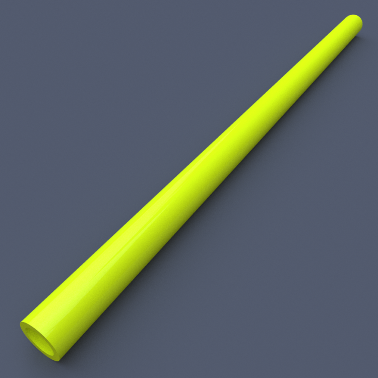 AstroLogix Yellow Tubes (30 pieces)